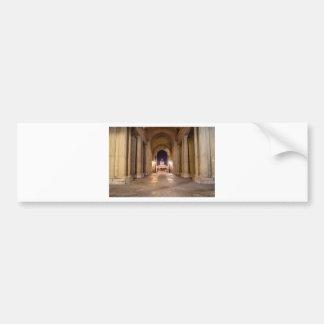 Passage in Louvre to bridge of arts in Paris Bumper Sticker