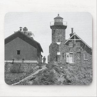Passage Island Lighthouse Mouse Pad