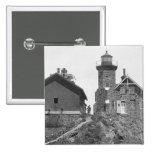 Passage Island Lighthouse Pinback Buttons