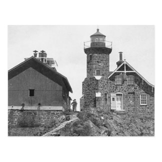 Passage Island Lighthouse Postcard
