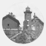 Passage Island Lighthouse Stickers