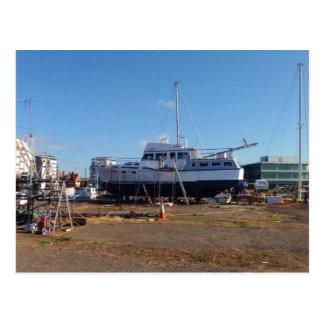 Passage Maker Motor Boat Postcard