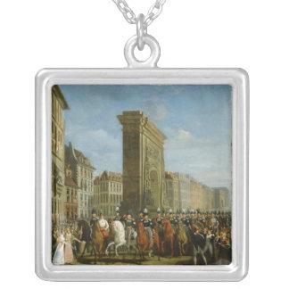 Passage of Allied Sovereigns Silver Plated Necklace