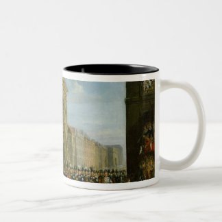 Passage of Allied Sovereigns Two-Tone Coffee Mug
