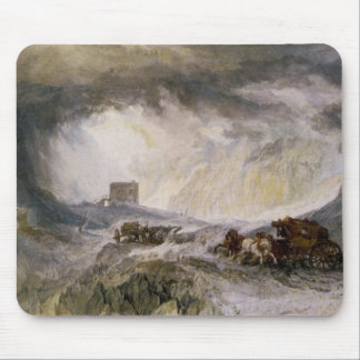 Passage Of Mount Cenis Mouse Pad