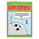 Passage of Play Greeting Card