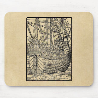 Passage on a Trading Ship Mouse Pad