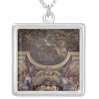 Passage on the Rhine Silver Plated Necklace