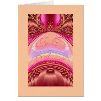Passage vers l'Illumination Intérieure qu' Card