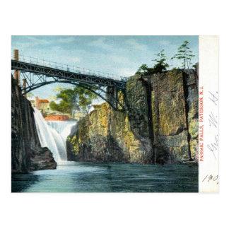 Passaic Falls Paterson NJ 1907 vintage Post Cards