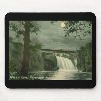 Passaic Falls, Paterson NJ Vintage Mouse Pad