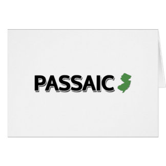 Passaic New Jersey Greeting Card