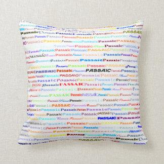 Passaic Text Design II Throw Pillow