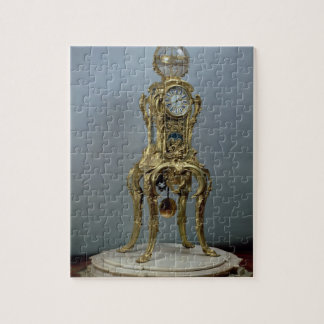 Passament astronomical clock made by Jacques Caffi Jigsaw Puzzle