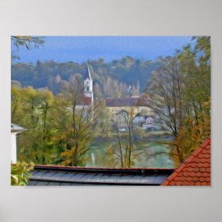 Passau Germany scene Poster