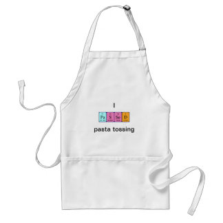 Passed periodic table name apron