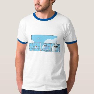 Passenger Jet Cartoon Men's Shirt