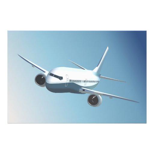 Passenger Jet  On The Sky Photo