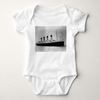 Passenger Liner Steamship RMS Titanic Baby Bodysuit