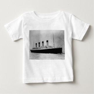 Passenger Liner Steamship RMS Titanic Baby T-Shirt