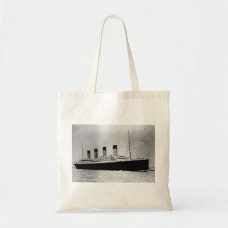 Passenger Liner Steamship RMS Titanic Tote Bags