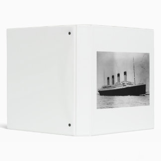 Passenger Liner Steamship RMS Titanic Binder
