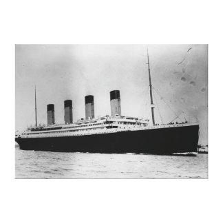 Passenger Liner Steamship RMS Titanic Canvas Print