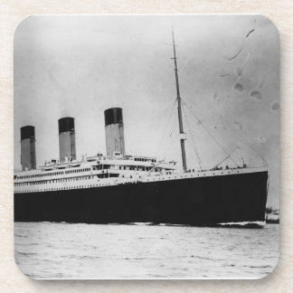 Passenger Liner Steamship RMS Titanic Drink Coaster