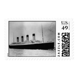 Passenger Liner Steamship RMS Titanic Postage Stamps