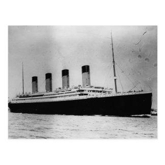 Passenger Liner Steamship RMS Titanic Postcard
