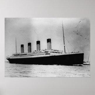 Passenger Liner Steamship RMS Titanic Poster