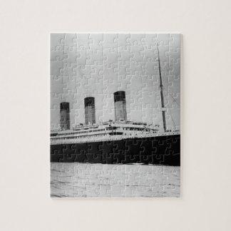 Passenger Liner Steamship RMS Titanic Puzzle