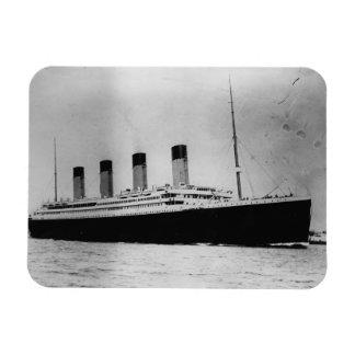 Passenger Liner Steamship RMS Titanic Rectangular Photo Magnet