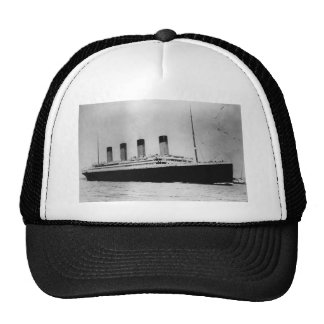 Passenger Liner Steamship RMS Titanic Trucker Hat