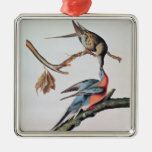 Passenger Pigeon, from 'Birds of America' Metal Ornament