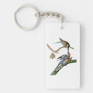 Passenger Pigeon John Audubon Birds of America Keychain