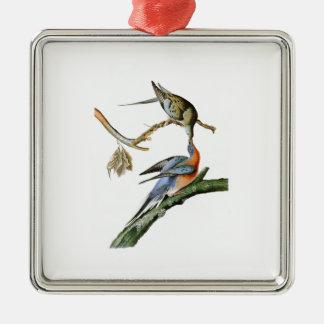 Passenger Pigeon John Audubon Birds of America Metal Ornament