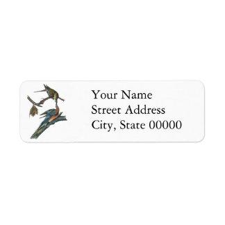 Passenger Pigeon, John Audubon Custom Return Address Label
