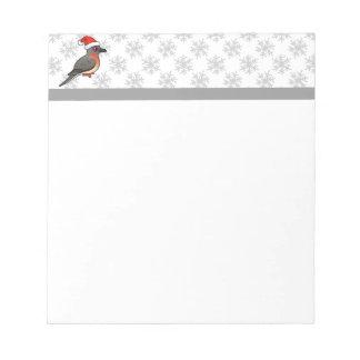 Passenger Pigeon Santa Scratch Pads