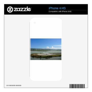 passenger plane decal for the iPhone 4S