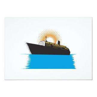 Passenger Ship Cargo Boat Retro Custom Announcements