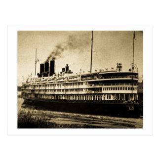 "Passenger Ship ""Greater Detroit"" Postcard"