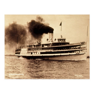 Passenger Steamer Greyhound - Louis Pesha Post Card
