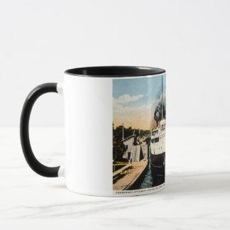 Passenger Steamer Juanita Leaving Weitzel Lock Mug