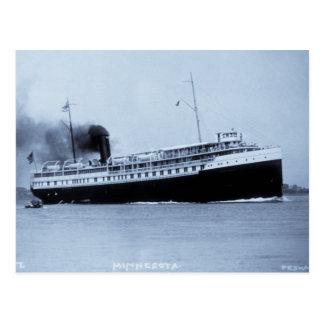 Passenger Steamer Minnesota - Louis Pesha Postcards