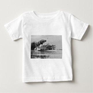 Passenger Steamer Tashmoo Great Lakes  Louis Pesha Baby T-Shirt
