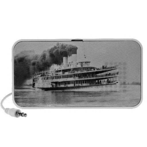 Passenger Steamer Tashmoo Great Lakes  Louis Pesha Mp3 Speakers