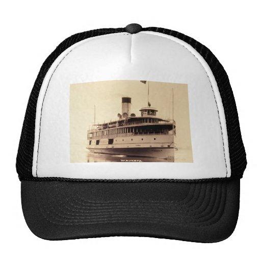 Passenger Steamer Wauketa Mesh Hats