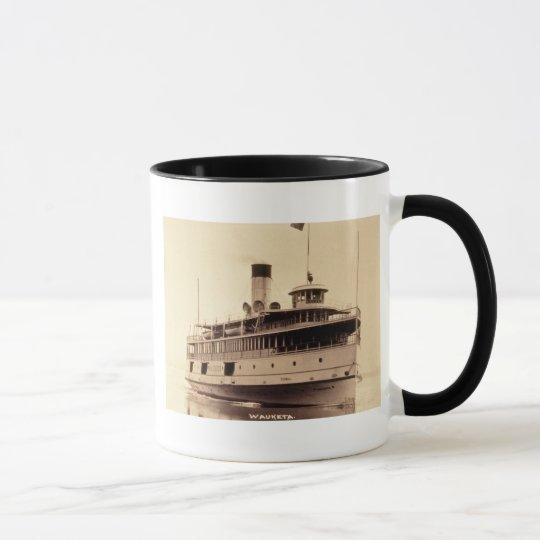 Passenger Steamer Wauketa Mug