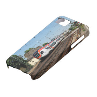 Passenger train in coarse home on the Rhine iPhone SE/5/5s Case